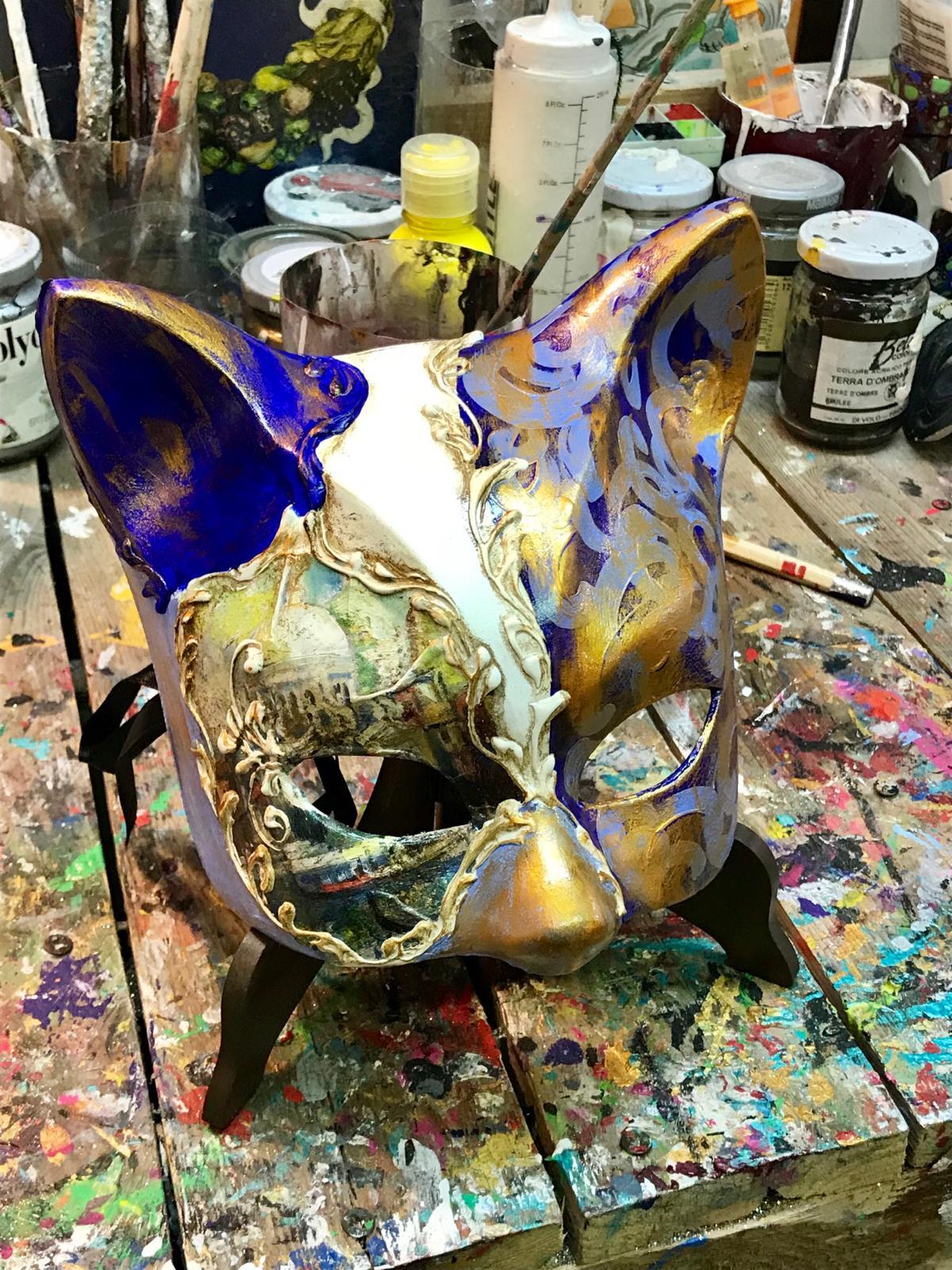 maschera artigianale veneziana